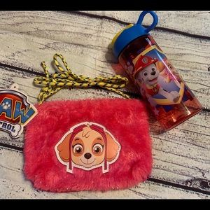 Paw Patrol Toddlers Purse and Water bottle Set
